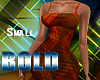 S Bold Afro Dress