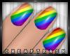+ Rainbow Nails