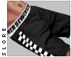 $ black checker shorts