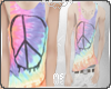 h| Rainbow peace Tank
