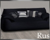 Rus Navy Comfy Couch