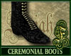 Ceremonial Boots Gold