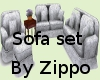 English sofa set