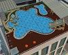 Playful Roof Pool Area