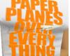 GIRL*Orange Paperplanes*