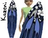 Blue Hawaiian Surfboard