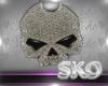 *SK*Skull Belly Ring