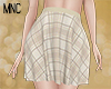MNC Fall'19 Plaid Skirt