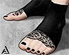 神. CyberDark Feet