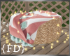 {FD} Summer Wicker Pouf