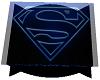 Superman Glass Table