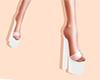 Sexy Shoes : white