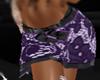 Purple Lace Skirt [x]