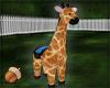 Stuffed Giraffe no pose