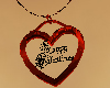Red Valentines Necklace