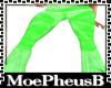 Slim Pastel Green Bottom