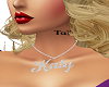 Custom Name Chain Katy