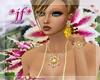 *jf* Garzania Flower Set