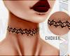 $ Black:Henna:Choker