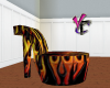 Flaming Heel Chair