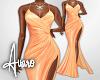 Evening Gown ~ Peach