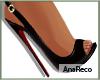 A∞ Elegant Black Heels