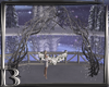*B* Winter Wedding Arch