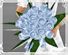 !Bridesmaid bouquet blue