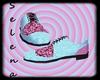 {SBlue/PinkWedding Shoes