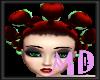 Red lollipop Hair
