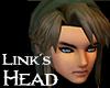 Link's head