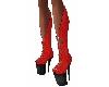botas rojas anillas