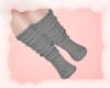 A: Grey socks