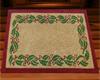 Rustic Holly Doormat