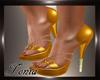 (T) Heels L0LA Gold