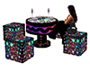 Disco Table & Chairs