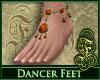 Dancer Feet Fire Opal