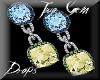 (LL)XKS GemDrop Earrings