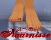 (NA) Fuchsia Dainty Feet