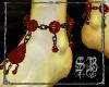 SB Ruby Dragon Anklets