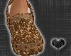 *CROCS BrownDiamondShoes