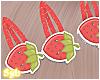 Strawberry Clips x