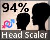 Head Scaler 94% F A
