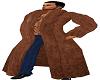 Men's Brown Fur Coat