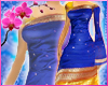 RC Indian Saree Blue