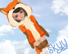 Kids Fall Fox Outfit