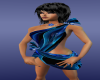 coolblue-blackwrap dress