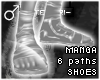 !T Manga 6 paths shoes
