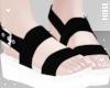 n  Sandals Black