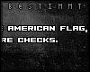 [b] American flag